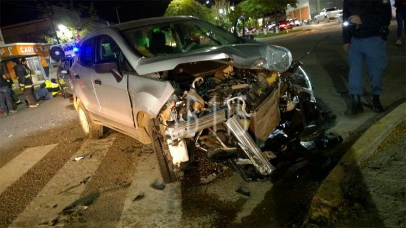Plaza Huincul: dos accidentes de tránsito dejaron a 14 personas heridas