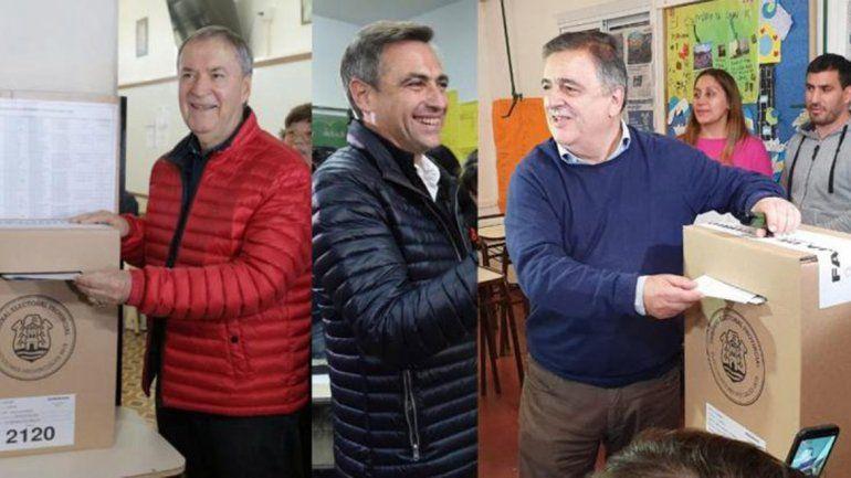Córdoba: los principales candidatos a gobernador ya votaron