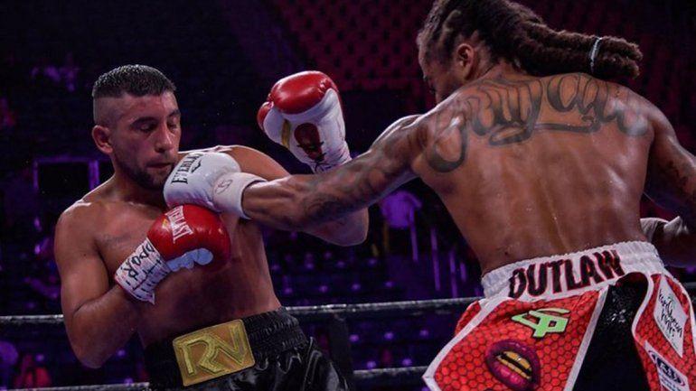 El Guapo Matamala cayó en el cuarto round pero cumplió un gran sueño
