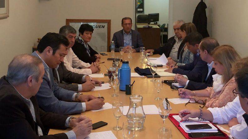 Gutiérrez, Sapag y Pereyra acordaron ir juntos en las PASO nacionales