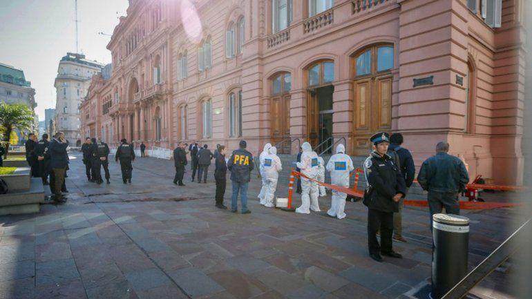Activan protocolo en Casa Rosada y el anexo de Diputados por amenazas de bomba