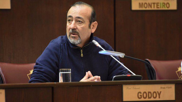 Formularán cargos al policía que baleó al diputado Godoy