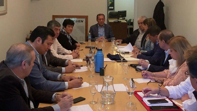 Gutiérrez, Sapag y Pereyra acuerdan rumbo a las PASO