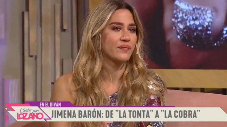 La emoción de Jimena Barón al contar la historia detrás de su éxito La Cobra