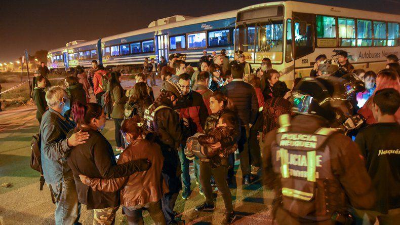 Qué dijo el chofer de Autobuses sobre el accidente con el Tren del Valle