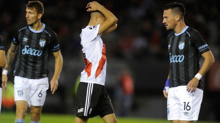 River ganó 4 a 1 a Atlético Tucumán pero quedó eliminado de la Copa