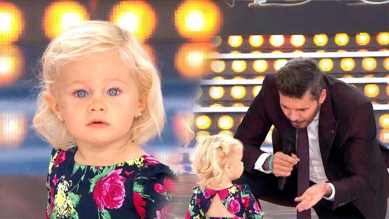 Otra que Mirko: Matilda, la hija de Luciana Salazar, enterneció a todo el piso de ShowMatch