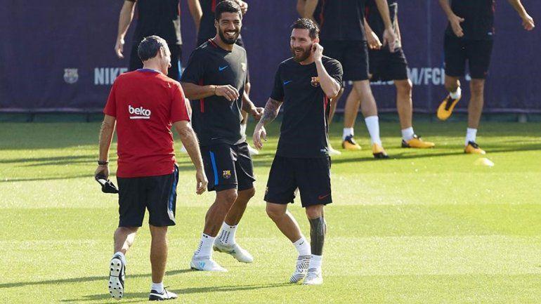 Acusan a Messi y a Suárez de boicotear al técnico Valverde