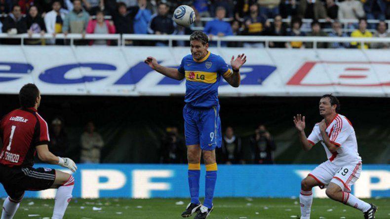 A 8 años del último gol de Palermo a River, en el peor momento del Millo