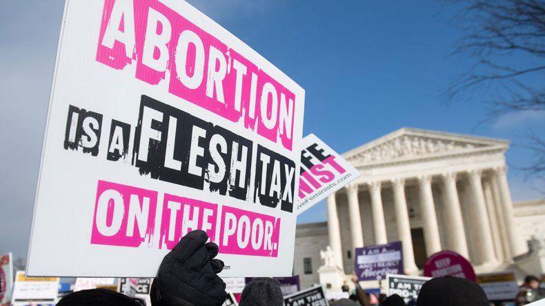 El fin del aborto legal avanza en Estados Unidos