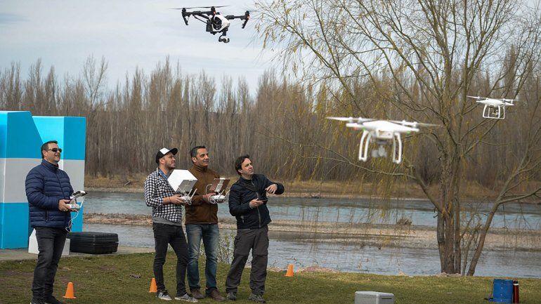 Los droneros de Neuquén ya hacen pie en Vaca Muerta