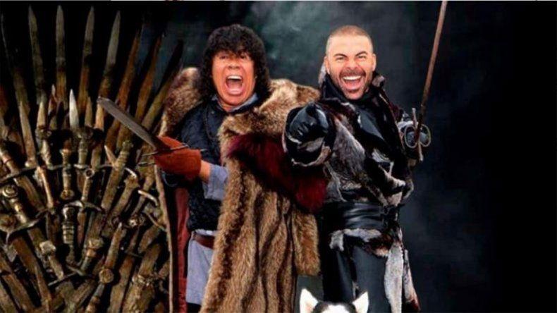 Mirá la desopilante parodia que hizo La Mona Jiménez de Game of Thrones