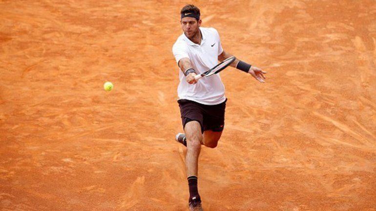 Juan Martín Del Potro y Federico Delbonis debutaron con victorias en Roland Garros