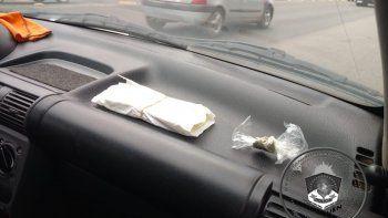 circulaban con marihuana, cocaina y dolares truchos