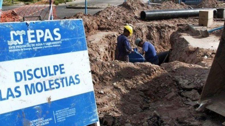 El EPAS anunció un corte de agua en el Centro Este hasta la tarde