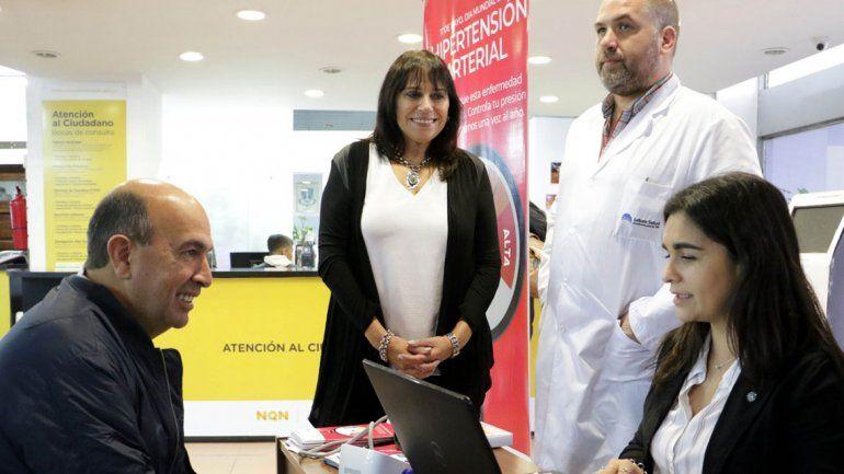 Hicieron campaña de prevención contra la hipertensión arterial