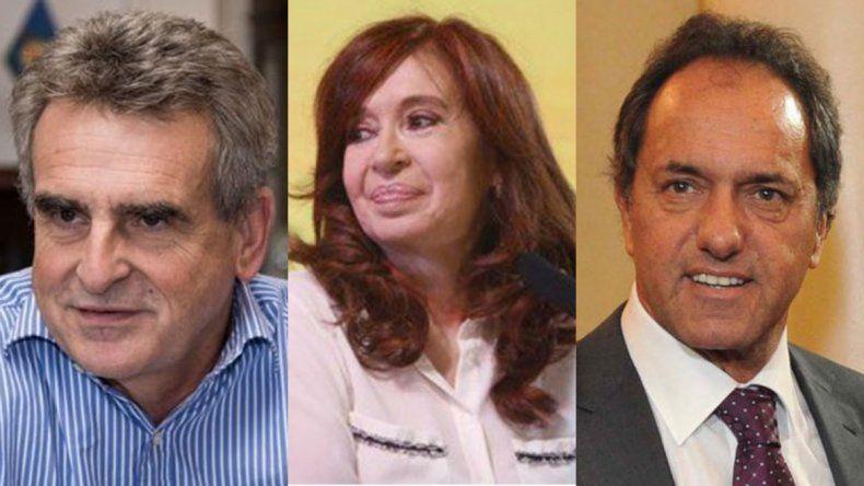 Daniel Scioli ratificó su candidatura y Agustín Rossi se bajó tras el anuncio de Cristina
