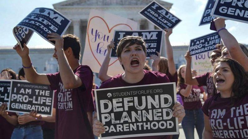 Revés al aborto en EEUU: prohibido hasta en violación e incesto