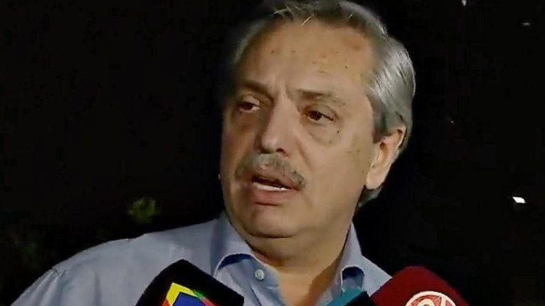Alberto: Para mí la guerra con el periodismo se terminó