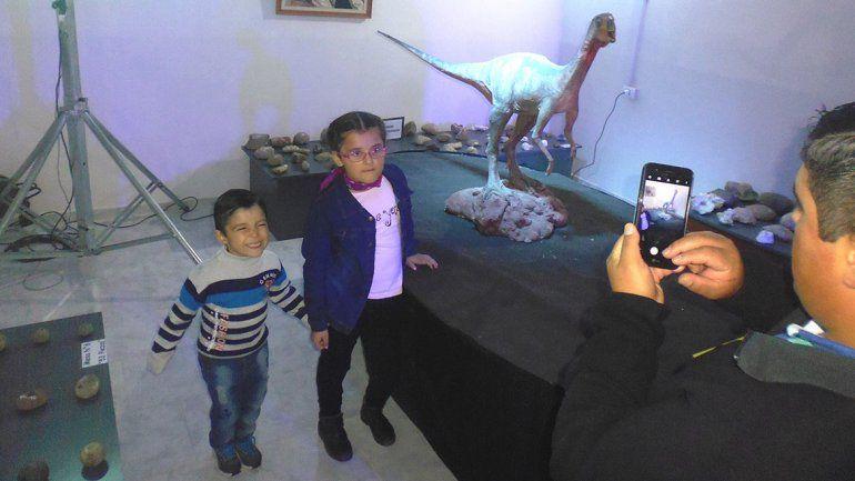 Con la Expo Dinos, Las Lajas muestra sus atractivos