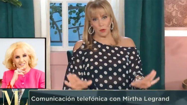 La llamada de locos entre Mirtha y Marcela que casi termina en pelea