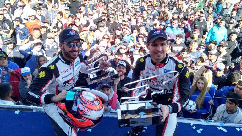 Súper TC 2000: Toyota consiguió un 1-2 en San Juan y Urcera finalizó quinto