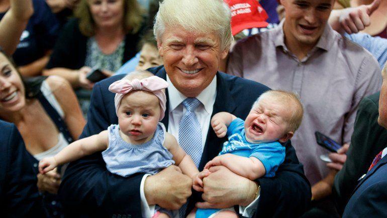 Trump se subió a la ola antiaborto y dijo que es provida