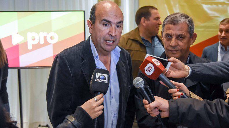 Bermúdez sería un excelente intendente, dijo Pechi Quiroga