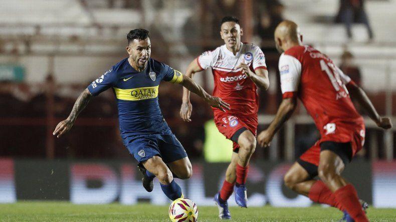 Boca y Argentinos no se sacaron diferencias