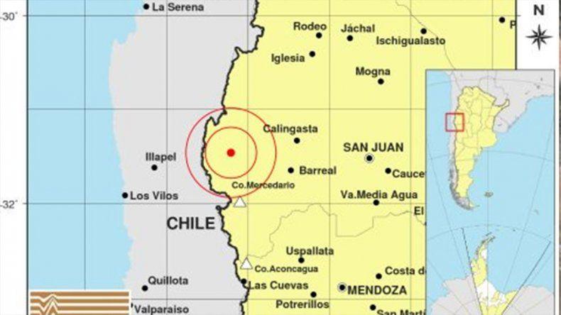 Susto en San Juan por un sismo de 5.6 grados de magnitud