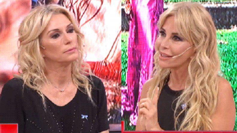 Yanina y Alfano se mostraron los dientes en LAM:  Vos más que reina sos una guillotina