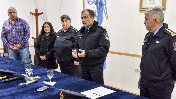 policia anuncio la creacion de una oficina de atencion a las problematicas de genero