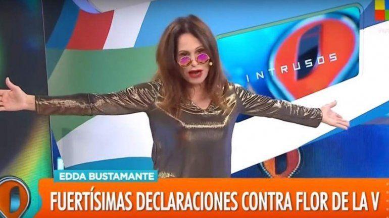Edda Bustamante abandonó Intrusos llena de furia
