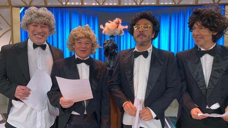 La vieja fórmula: el humor tiene día en Showmatch
