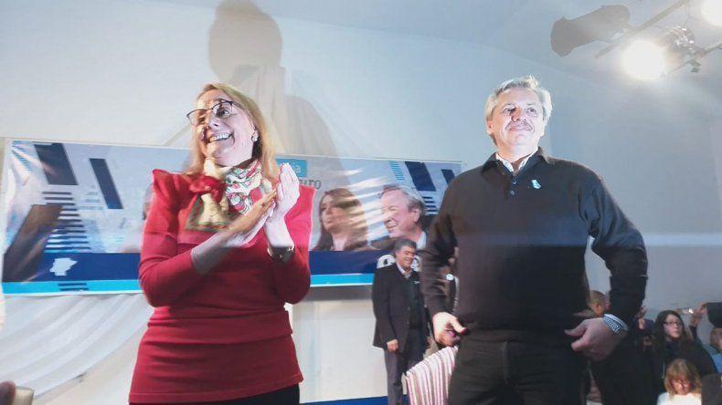 Fernández tuvo su primer acto y recalcó que su candidatura no es testimonial