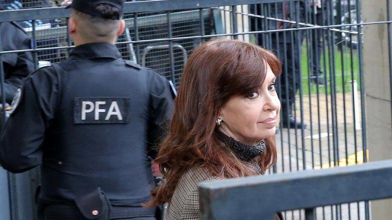 Comienza el primer juicio contra Cristina