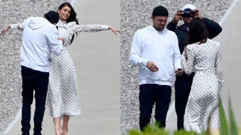 Leo DiCaprio, loco en Cannes por su novia argentina