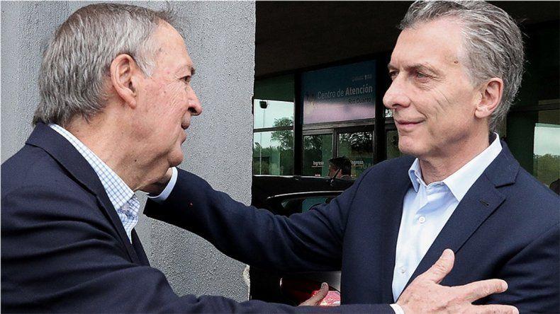 Macri recibirá esta tarde al gobernador electo Juan Schiaretti