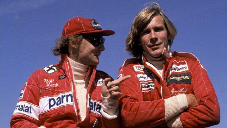 Lauda y Hunt: una relación de amor y odio que llegó al cine
