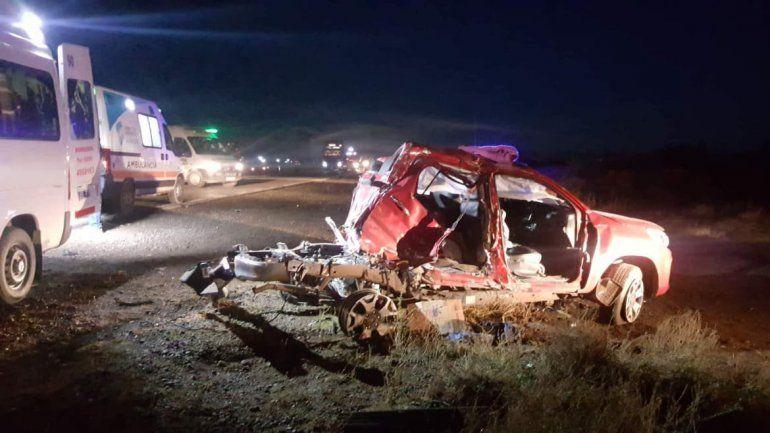 Un muerto y dos heridos graves en un accidente en la Ruta 151