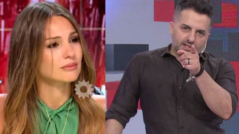 Ángel de Brito a Pampita: Sos la peor mierda de la televisión