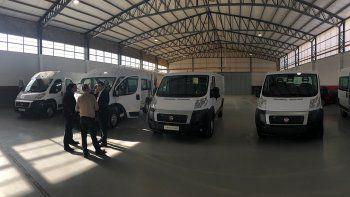 presentaron al nuevo ducato, en versiones ambulancia y minubus