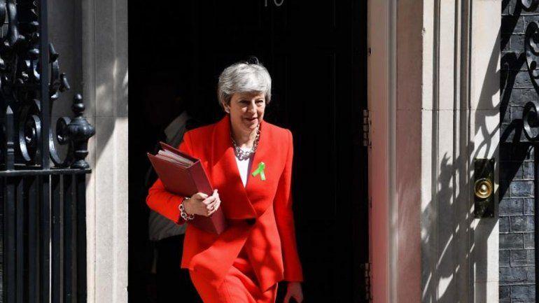 May lanzó su última carta para el Brexit blando
