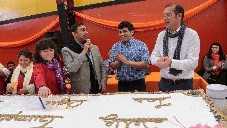 Las Ovejas festejó el anuncio de dos obras esperadas