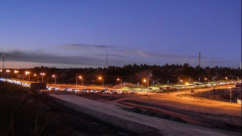 Se normalizó el tránsito en Ruta 7 y Doctor Ramón, siguen trabajos en el gasoducto roto