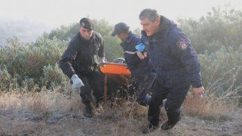 el cuerpo encontrado en junin es el de andino aminahuel