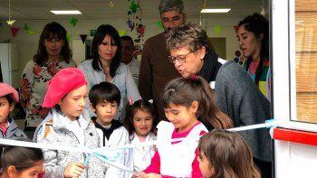 huantraico festejo la ampliacion de su escuela albergue