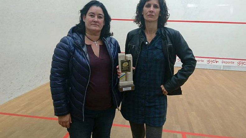 Vibradores por ganar un campeonato de squash
