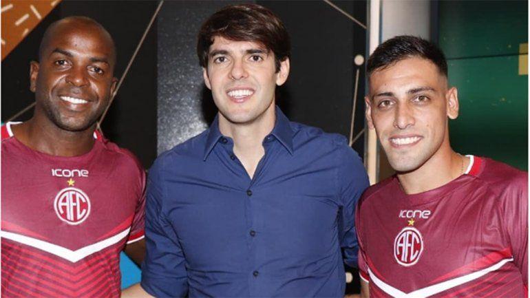 El neuquino que jugó futmesa con Kaká y Zinho en la tele brasileña