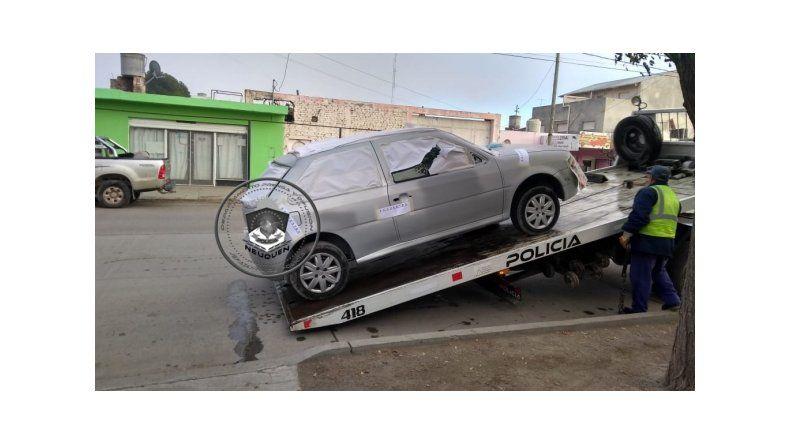 Secuestraron un auto por dos robos en el Bajo neuquino